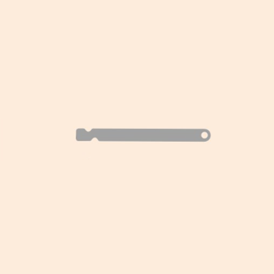 SEPARATOR NEEDLE WITH SINGLE HOLE 0.25 (LONG)