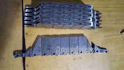 PROFILE CHAIN LINKS FOR WARP KNITTING MACHINE